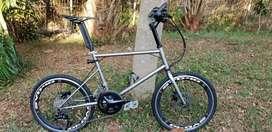 Roadbike road bike minivelo Silverrock