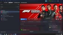 Akun Steam F1 2020, F1 2019, Assetto Corsa