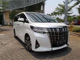 Toyota Alphard 2018 G ATPM Putih