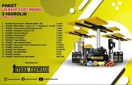 Paket cuci mobil 3 hidrolik H