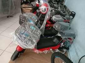 Sepeda listrikkk redfish terbaru kredit dp 0%