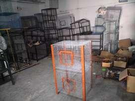 New steel birds cage
