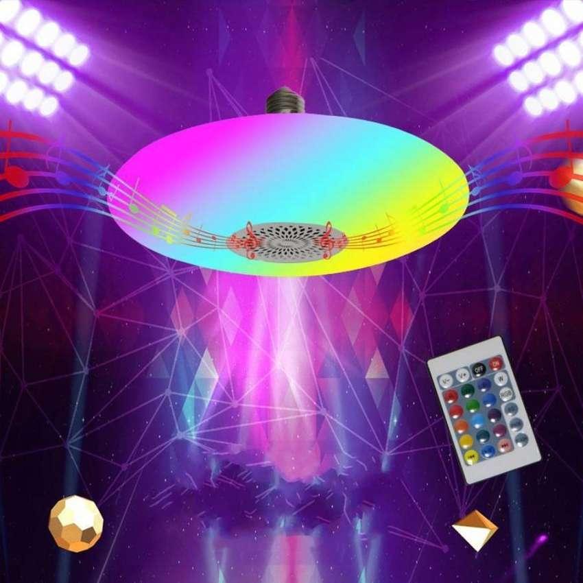 Lampu Bohlam UFO E27 Rgb 30w Dengan Remote Control