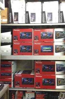 Paket Car Tape Pioneer AVH-A315BT & Kamera Mundur LED