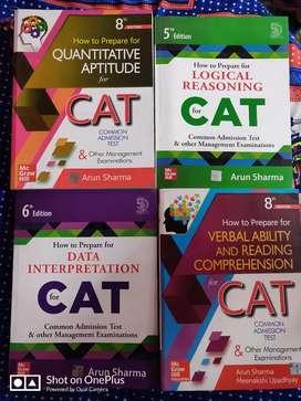 CAT books latest edition