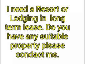 Resort or Lodge  or PG