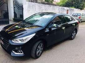 Petrol Automatic SX+ Verna 2019 model : June'19