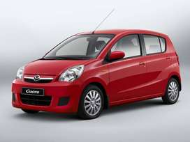 get daihatsu cuore car on easy year plan