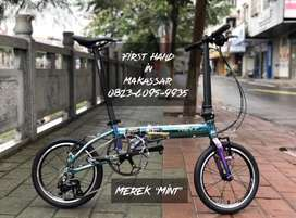 Sepeda Lipat Merek Mint