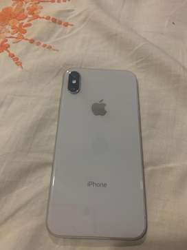 Iphone X 64gb silver color