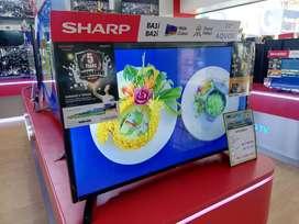 Tv sharp 32in cicilan bisa free 1x pakai HOME CREDIT