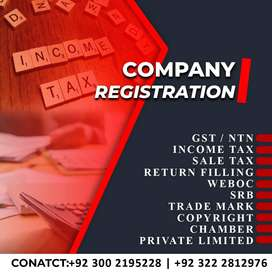 COMPANY REGISTRATION/ All INCOME TAX SERVICES