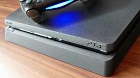 Sony Ps4 (play station) 1 TB with 5 latest Games and 2 controllers