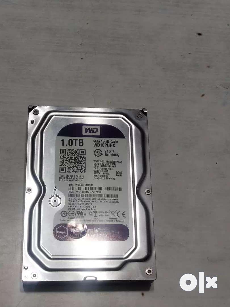 W.D Hard disk 1 Tb 0