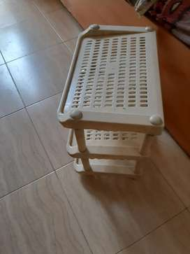 4 by 3 center piece  available wd shoe rack