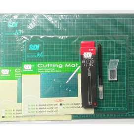 Cutting Mat SDI A3 (Alas Potong kertas, kain, dll)