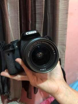 Canon 600D full set + nota pembelian