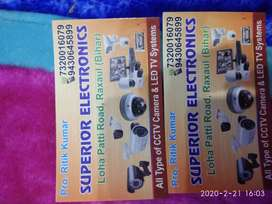 Cctv camera wholesale and install