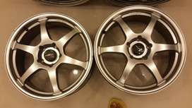 Lenso 17in Wheels, perfect condition, sell fast