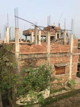 1 katha brand new house front shop position