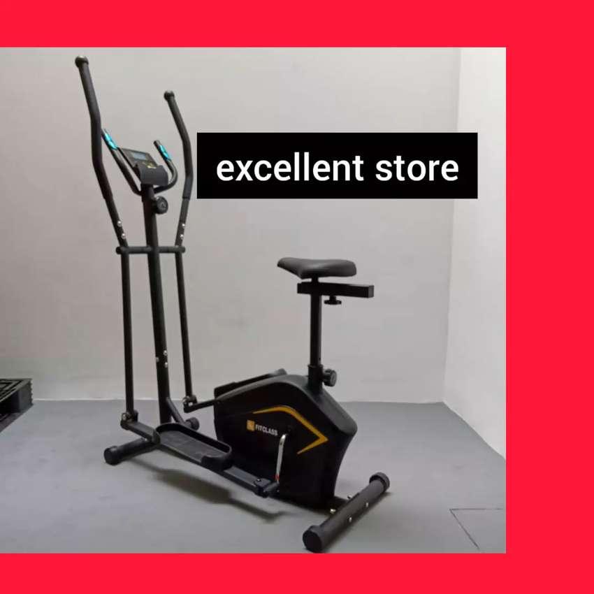 sepeda statis elliptical bike FC-987 magnetic crostrainer