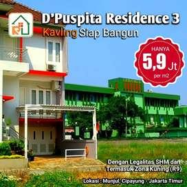 Tanah Kavling Murah Jakarta Timur,Dekat TOL & Stasiun LRT Cibubur