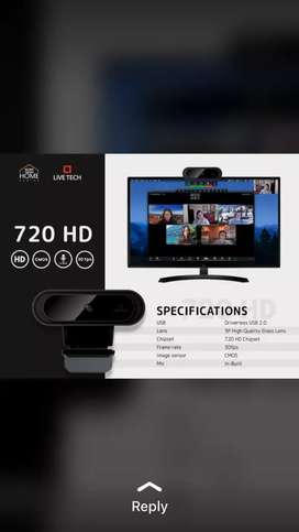 Brand New Webcam 720p