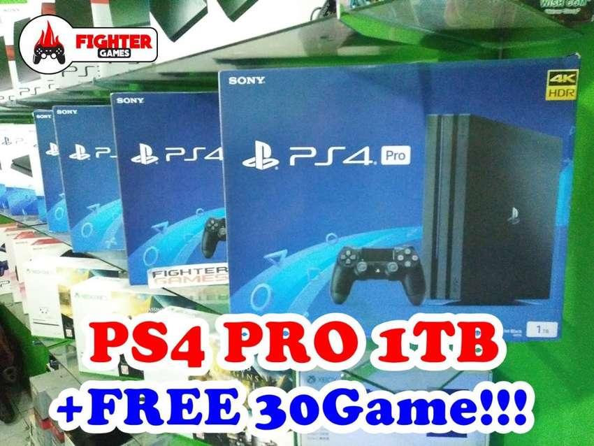 PS4 PRO 1TB +FULLGAME 30GAME bisa bebas pilih game 0