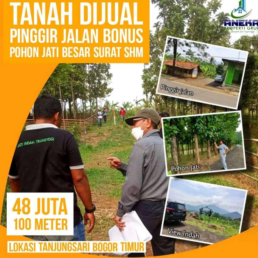Dijual Tanah Kavling Murah di Bogor Promo Surat Sudah Bisa SHM