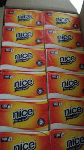 Tissue Nice 2 ply 180 sheet