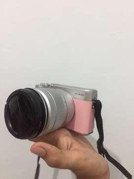 Mirrorless fujifilm X-a10 pink