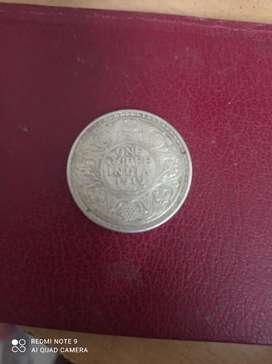 Real coin 1919 of George V King Emperor