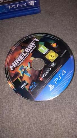 Mine craft cd ps4 edition