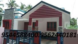 6 cent plot  with 1300 sq.ft 3 BHK house in paripalli