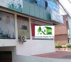 Ground floor office space in Pallimukku , Kochi.