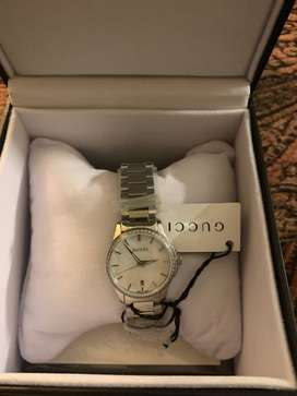 Original Gucci G Timeless, Diamond Bezel, Brand New with Tags, Swiss m