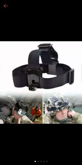 Head strap u/ action Cam