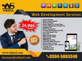 Website Design Development - SEO Service - e-Commerce Website