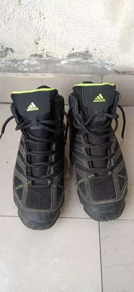 Addidas black shoes size 9