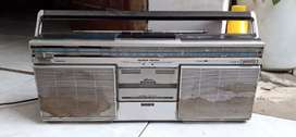 Jual radio jadul philips kondisi hidup radio aja kaset off yg minat wa