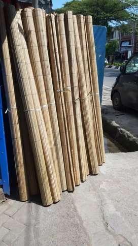Tirai bambu,Tirai rotan,Tirai kayu motif,Tikar Rotan