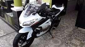 Ninja 250 ABS asli banjar km rendah
