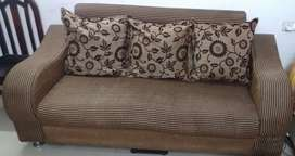 3+2 seater sofa with pillows