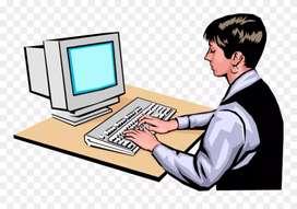 Urgent required a computer oprator