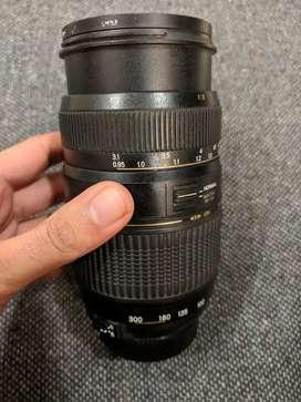 Tamron 70-300 zoom and macro lens(for Nikon)