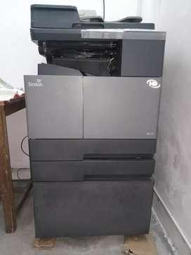 Sindoh  N-410 photocopy machine one year old.
