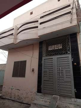 Double storey House for sale area 2½