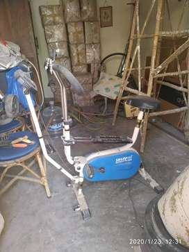 For sale sparingly used fitness bike