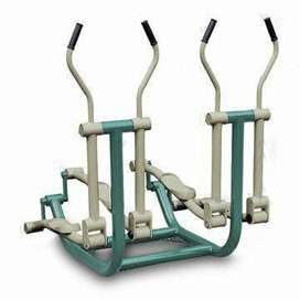 Double Elliptical Machine Outdoor Fitness Murah Garansi 1 Tahun