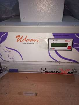 Rubber stamp machine make udaan